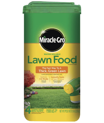 Miracle-Gro All Purpose Water Soluble Lawn Food review