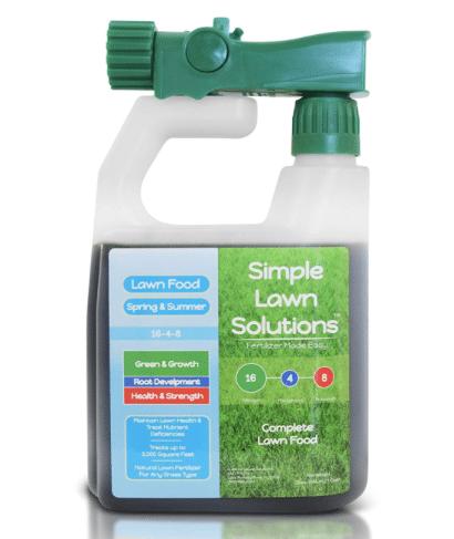 Lawn Food Natural Liquid Fertilizer - Simple Lawn Solutions review