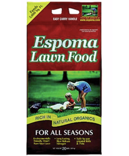 Espoma ELF20 20-Pound Organic All Season Lawn Food review