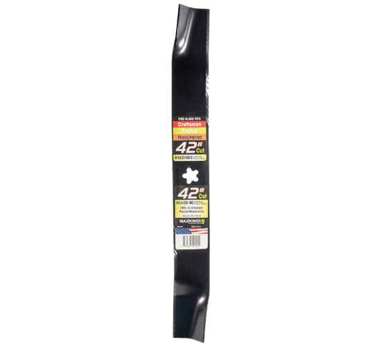 Maxpower 331714 Mower Blade For 42 Inch Cut Poulan/Husqvarna/Craftsman review