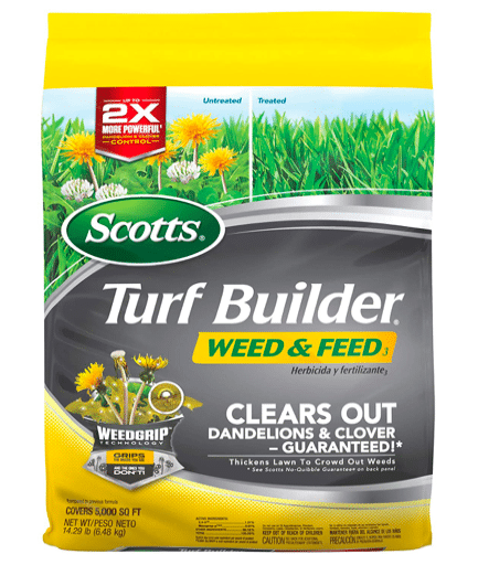 Scotts Turf Builder Weed and Feed 3 Fertilizer review