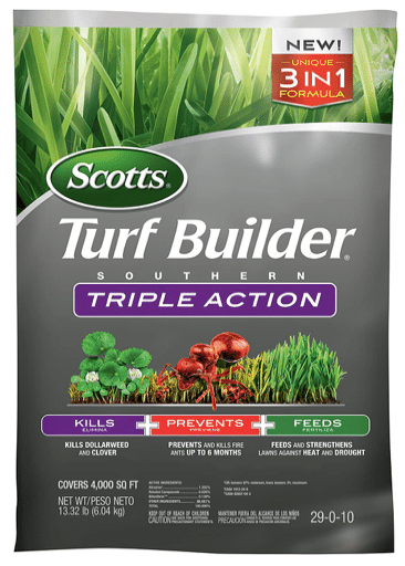 Scotts Turf Builder Southern Triple Action review